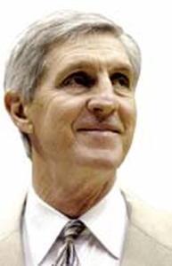Former Utah head coach Jerry Sloan