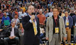 Golden State Warriors Owner's Joe Lacob & Peter Guber