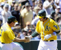 A's Savor Their Winning Moment