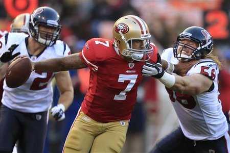 Kaepernick Under Pressure From Houston's Texans